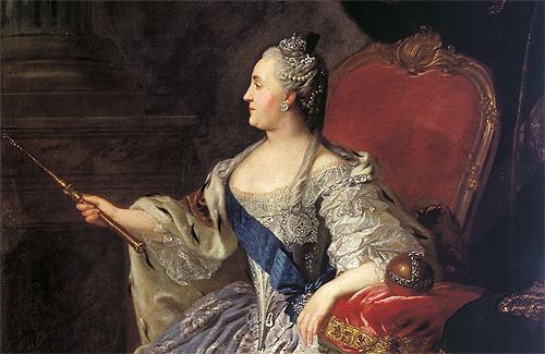 Фёдор Рокотов — портрет Екатерины II