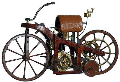 Сегодня исполняется 125 лет первому мотоциклу