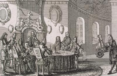 Подписание мирного договора в Ништадте