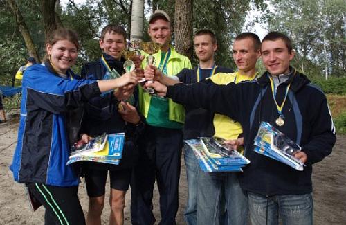 Спортсмени з Полтави перемогли в обласних змаганнях з техніки велосипедного туризму