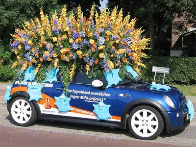 В Аалсмеере стартует ежегодный парад цветов