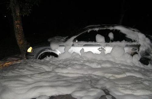 Кременчугский поджигатель опять уничтожил три автомобиля