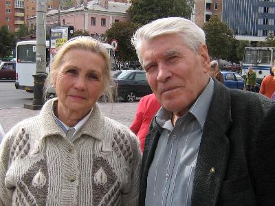 Людмила та Євген Шабаліни