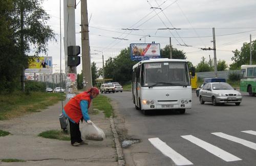 Полтава: чисто там, де прибирають?