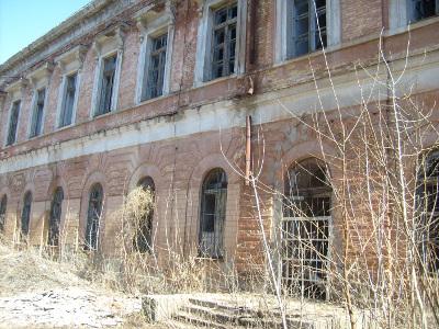Кадетский корпус (вид со двора)