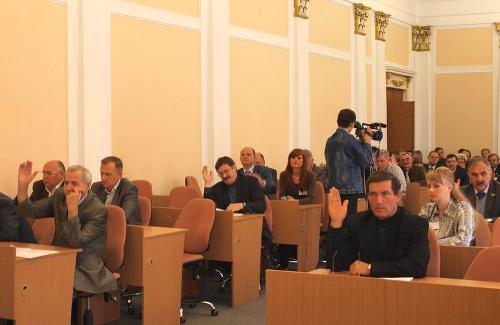 Відбулася позачергова п'ятдесят шоста сесія міської ради п'ятого скликання