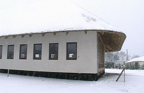 Найбільший у світі очеретяний дах зробили у селі Світлогірському