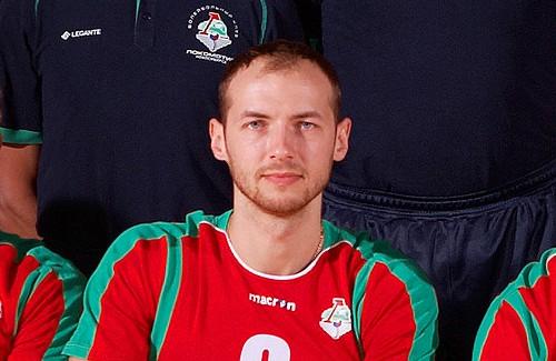 Микола Павлов – гравець новосибірського «Локомотиву»