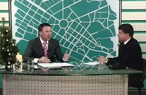 Андрій Матковський в ефірі студії «Місто»