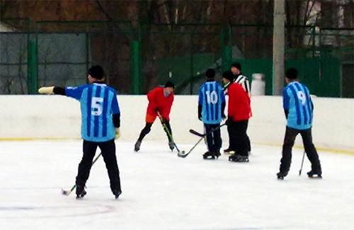 Городской турнир по хоккею с шайбой среди детей
