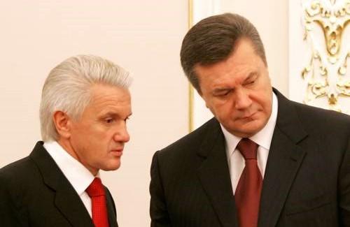 Владимир Литвин и Виктор Янукович