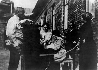 В 1922 году в Москве услышали концерт, переданный из Нижнего Новгорода