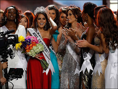 Победительницей конкурса «Мисс Вселенная» в этом году стала 22-летняя мексиканка Химена Наваррете