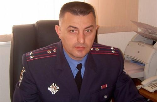Начальник відділу зв'язків із громадськістю ГУ МВС України в Полтавській області Юрій Сулаєв