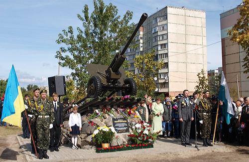 У Полтаві з'явилася нова зброя часів Великої вітчизняної війни