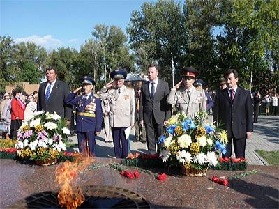 Свято 67-ї річниці визволення Полтави від німецько-фашистських загарбників