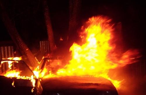 Поджоги авто в Кременчуге — пироман возвращается
