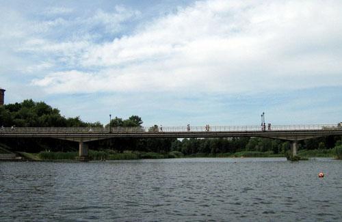 Міст через р. Хорол у Миргороді
