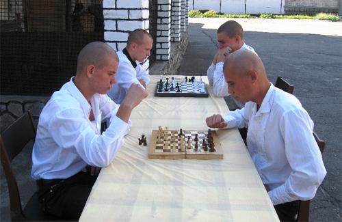 Кременчуцькі хлопці змагались в шахи