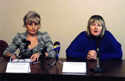 Вікторія Курілко та Олена Якубенко
