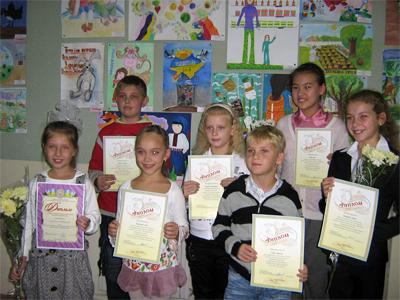 Стали відомі імена переможців регіонального етапу Всеукраїнського конкурсу дитячого малюнка