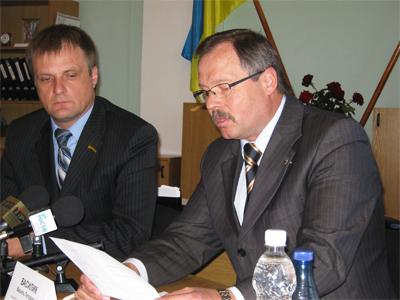 Ігор Балицький та Василь Василик