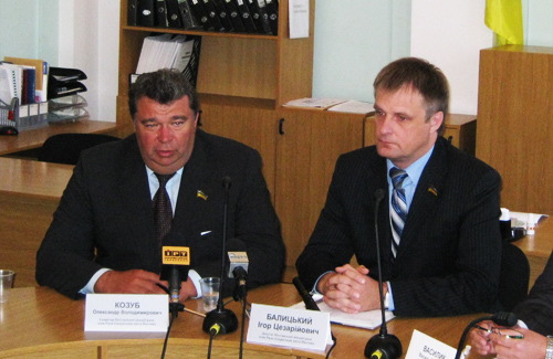 Олександр Козуб та Ігор Балицький
