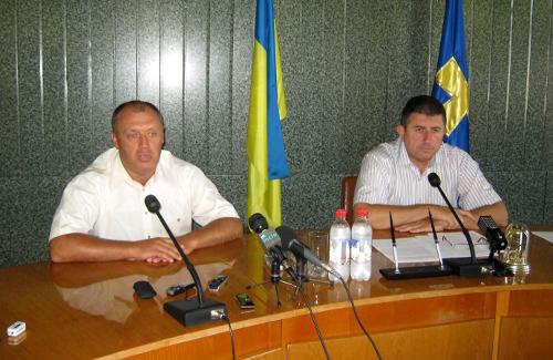 Александр Мамай и Александр Удовиченко