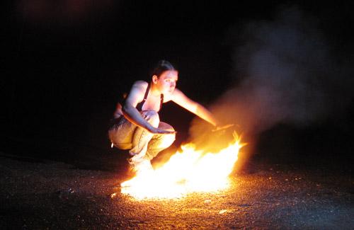 Полтаву охопило полум'я