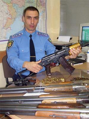 Чеченський автомат пролежав у дивані 17 років