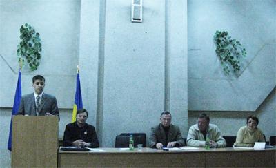 Збори полтавського осередку партії «За Україну!»
