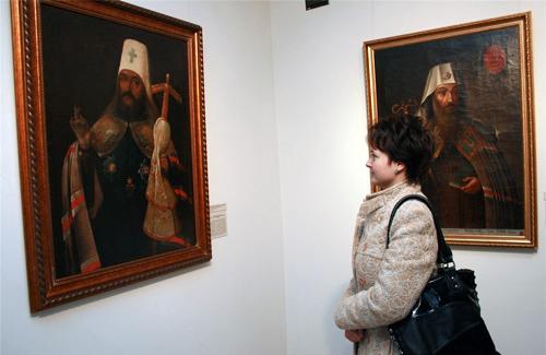 Галерея мистецтв прикрасилася портретами церковних діячів XVII-XVIII століть