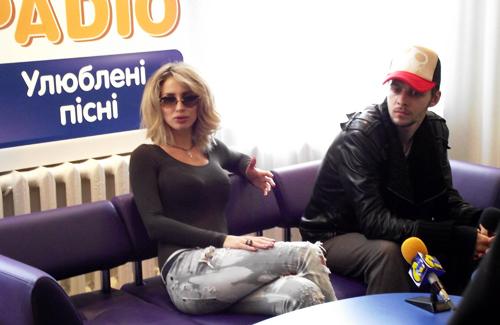 Светлана Лобода и Максим Барских