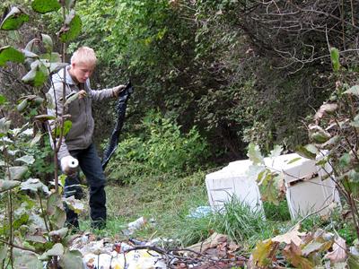 Магія чисел та любов до природи «зібрали» 35 мішків сміття