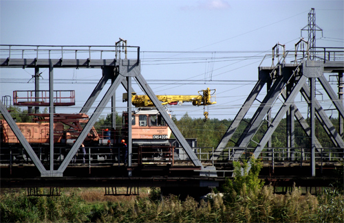 На ділянці «Полтава Південна — Мала Перещепинська» проводиться модернізація залізничного шляху