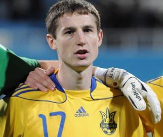 Владимир Чеснаков в молодежной сборной Украины