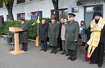 Владика Федір благословив молодих воїнів на святу справу