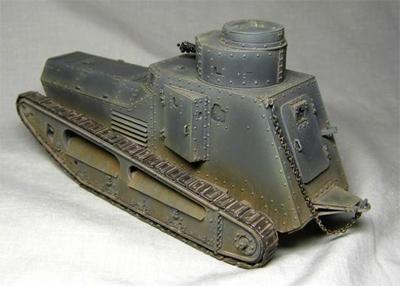 Німецький танк Першої світової війни. Їх не лишилося в музеях, проте на вашій полиці можуть красуватися і більш рідкісні екземпляри