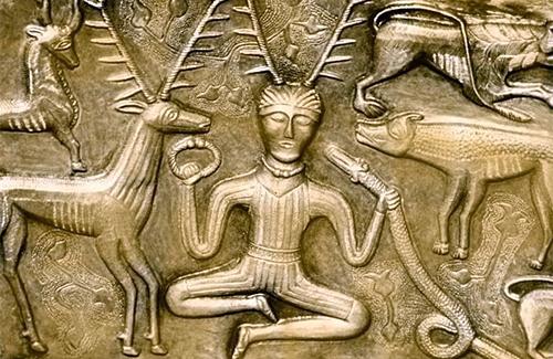 Кельтский бог Цернунн