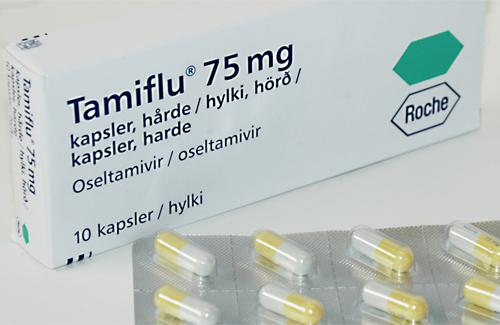 З минулого року залишилося 2130 упаковок «Таміфлю»