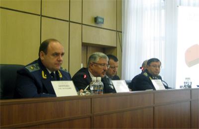 Засідання колегії Полтавської обласної прокуратури