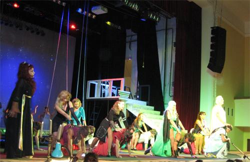 Первая в этом сезоне премьерой театра — «Энеида»