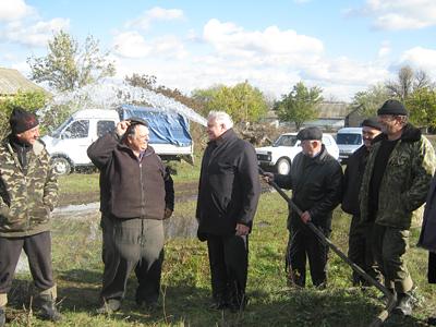 За ініціативи Валерія Ченчевого в трьох селах відновлено подачу води з трьох рані