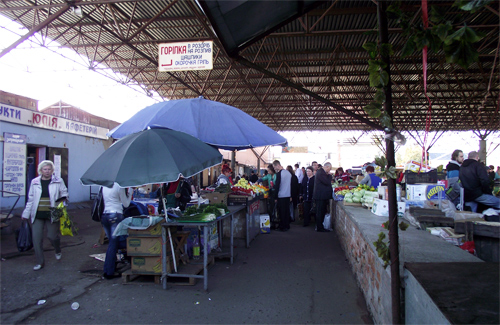 Центральный рынок в Полтаве