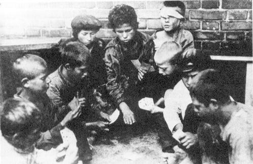 Беспризорники в период Гражданской войны
