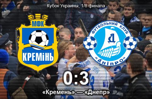 Беспорядки на матче «Кремень» — «Днепр»