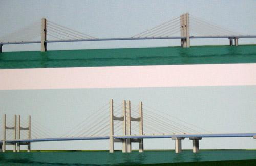 Фасад проектируемого моста