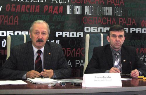 Степан Бульба та Микола Білокінь