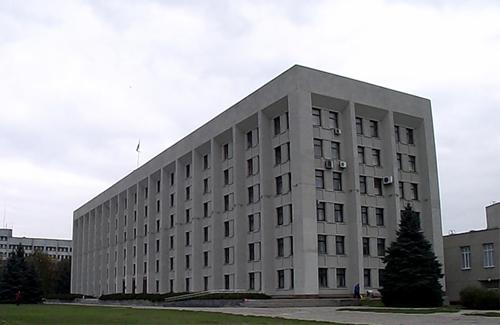 Будівля, яку ділять Полтавська облдержадміністрація та Полтавська обласна рада