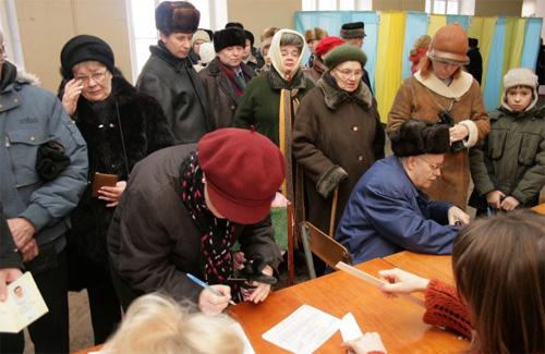 Началось голосование на местных выборах
